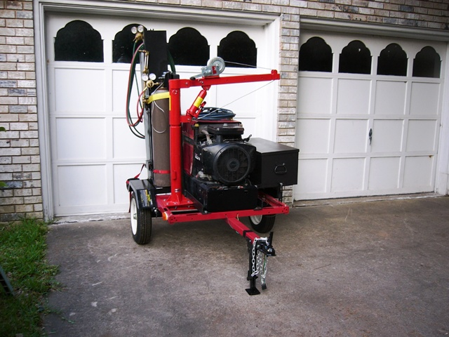First Welding Rig - Front view